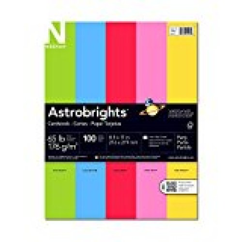 Astrobrights Prem. Cardstock 65lb 5 color