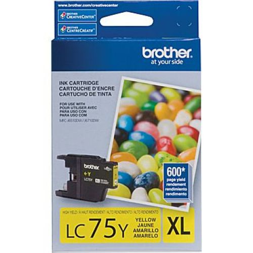 Brother LC75 XL Yellow